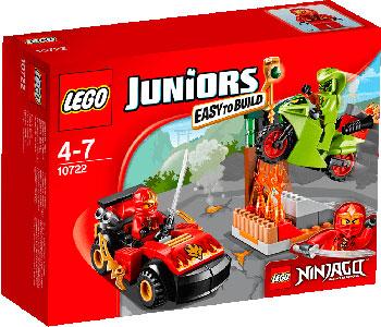Конструктор Lego Juniors Схватка со змеями 10722