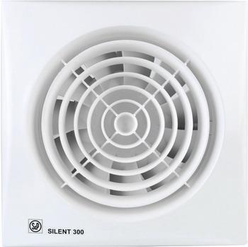 Вытяжной вентилятор Soler amp Palau SILENT-300 CZ PLUS (белый) 03-0103-139 вытяжной вентилятор soler & palau silent 200 chz white
