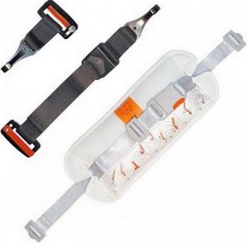 Комплект ремней для крепления люльки в автомобиле Inglesina KIT AUTO A 090 HB 350 подставка для люльки inglesina stand up серебрянный