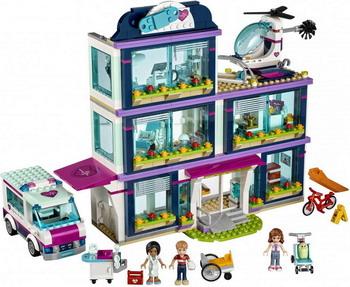 Конструктор Lego Friends: Клиника Хартлейк-Сити 41318 lego друзей series 6 до 12 лет сердце лейк сити йогурт мороженое магазин 41320 lego детские строительные блоки игрушки