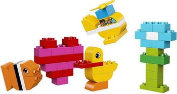 Конструктор Lego DUPLO My First: Мои первые кубики 10848