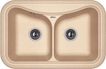 Кухонная мойка Florentina Крит-780 А 780х510 песочный FG цена
