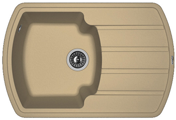 Кухонная мойка Florentina Нире-760 капучино FG мойка florentina нире 480 грей