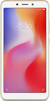 Смартфон Xiaomi Redmi 6 4/64 Gb золотой redmi 6 4 64 blue