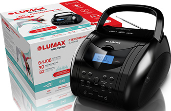 Магнитола Lumax BL 9102 USB relaxation 2 cd