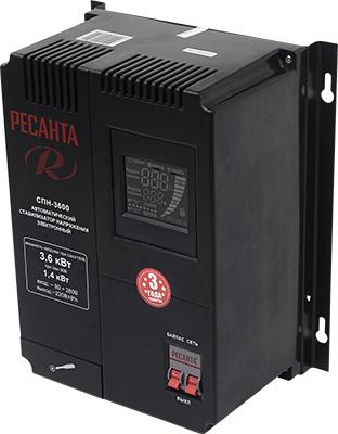 все цены на Стабилизатор напряжения Ресанта СПН-3600
