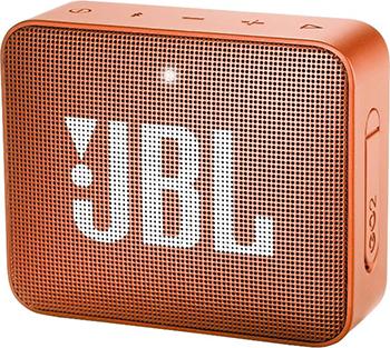 Портативная акустическая система JBL GO2 оранжевый JBLGO2ORG динамик jbl портативная акустическая система jbl flip 4 цвет squad