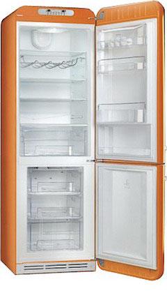 Двухкамерный холодильник Smeg FAB 32 RON1 двухкамерный холодильник smeg fab 32 razn1