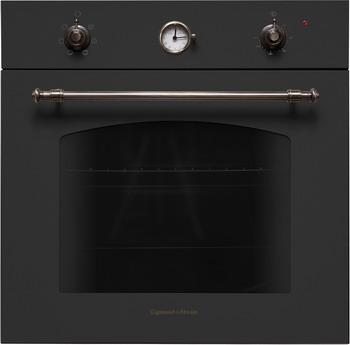 Встраиваемый электрический духовой шкаф Zigmund amp Shtain EN 107.611 A встраиваемый электрический духовой шкаф smeg sf 4120 mcn