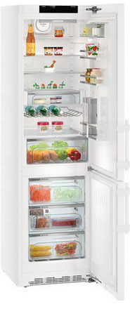 все цены на Двухкамерный холодильник Liebherr CNP 4858-20 онлайн