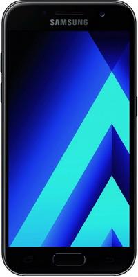 Мобильный телефон Samsung Galaxy A3 (2017) 16 Gb SM-A 320 F черный samsung sm a300f galaxy a3 white браслет pandora