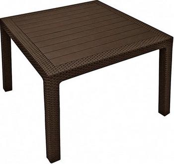 Стол Keter MELODY QUARTET 17197992 коричневый стол keter futura 17197868