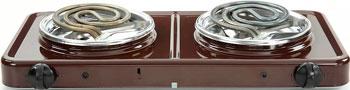 Настольная плита Zencha ЭПТ2-2 0 кВт/220В Pskova-2 коричневая