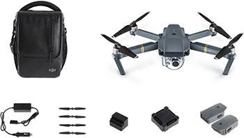 Квадрокоптер DJI Mavic Pro Fly More Combo черный сефер хелкас бинямин часть i