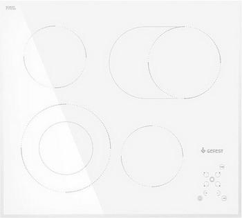 Встраиваемая электрическая варочная панель GEFEST ЭС В СН 4231 К12 цена и фото