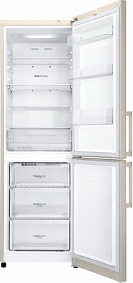 Двухкамерный холодильник LG GA-B 449 YEQZ холодильник с морозильной камерой lg ga b489ymqz