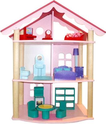 Кукольный дом Paremo PD 215 Роза Хутор с 14 предметами мебели