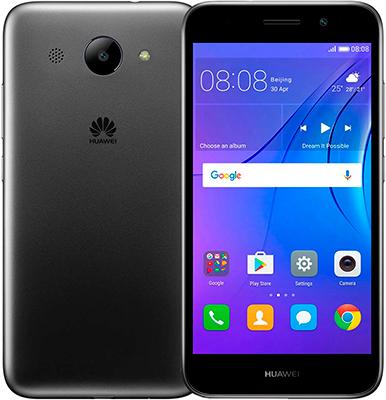 Мобильный телефон Huawei Y3 2017 серый смартфон huawei y3 2017 серый 5 8 гб wi fi gps 3g cro u00 51050ncw