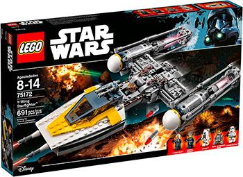 Конструктор Lego STAR WARS ''Звездный истребитель типа Y'' 75172-L 05065 genuine star wars y wing starfighter lepin building blocks bricks educational toys gift compatiable with lego kid gift set