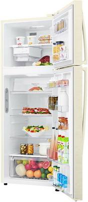 Двухкамерный холодильник LG GC-H 502 HEHZ холодильник lg gc b247jeuv бежевый двухкамерный