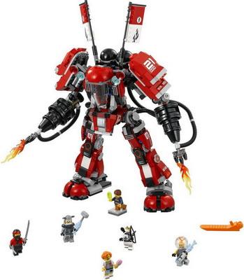 Конструктор Lego NINJAGO Огненный робот Кая 70615