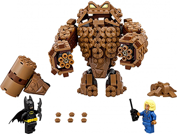 Конструктор Lego Batman Movie Атака Глиноликого 70904-L