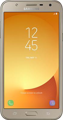 Мобильный телефон Samsung Galaxy J7 Neo SM-J 701 F/DS золотистый смартфон samsung galaxy j7 2016 sm j710fn gold