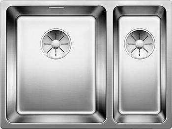 Кухонная мойка BLANCO ANDANO 340/180-IF нерж.сталь зеркальная полировка без клапана-автомата левая цена