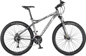 Велосипед Stinger 27.5'' Zeta HD 16'' серый 27 AHD.ZETAHD.16 GR6 stinger zeta hd 26 рама 18 черно голубой