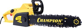 Цепная пила Champion 118-14'' 3/8-1 3-52 электропила цепная champion 422 18 3 8 1 3 62 2 2квт