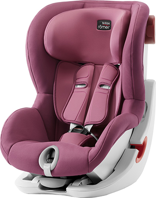 Автокресло Britax Roemer King II Wine Rose Trendline 2000027841 детское автокресло king ii ls wine rose trendline