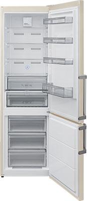Двухкамерный холодильник Jackys JR FV 2000 мраморный бежевый термоконтейнер арктика 2000 30 л зеленый