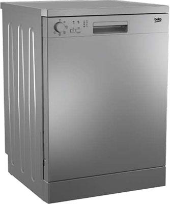 Посудомоечная машина Beko DFN 05 W 13 S серебристый посудомоечная машина beko dfn 05w13s