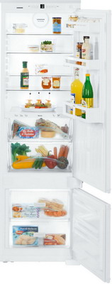 Встраиваемый двухкамерный холодильник Liebherr ICBS 3224-21 встраиваемый двухкамерный холодильник liebherr icbs 3224 20