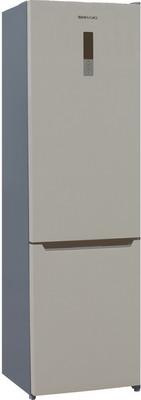 Двухкамерный холодильник Shivaki BMR-2017 DNFBE холодильник shivaki bmr 2013dnfw двухкамерный белый