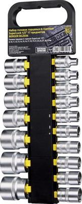 Набор торцевых головок BERGER BG 2036 набор инструмента berger bg 3ssp губцевого 3 в 1