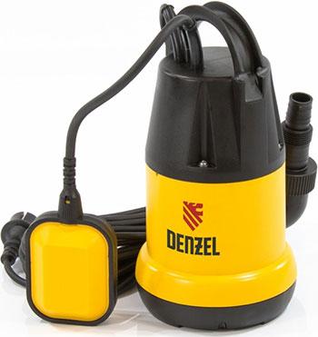 Насос DENZEL DP 250 97221 насос дренажный denzel dpх800