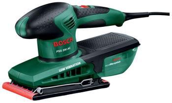 Вибрационная шлифовальная машина Bosch PSS 200 AC 0603340120 вибрационная шлифовальная машина bosch pss 200 ac 0603340120