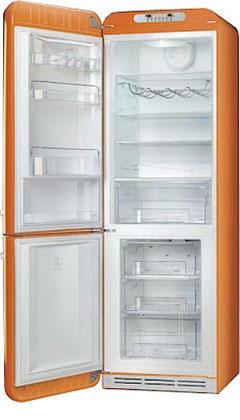 Двухкамерный холодильник Smeg FAB 32 LON1 двухкамерный холодильник smeg fab 32 razn1