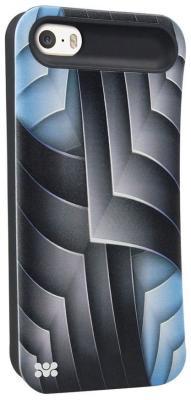все цены на Чехол (клип-кейс) Promate Rash-i5 синий онлайн