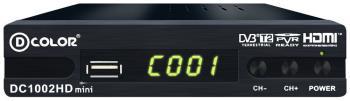 Цифровой телевизионный ресивер D-Color DC 1002 HD nitecore usb flashlight random color