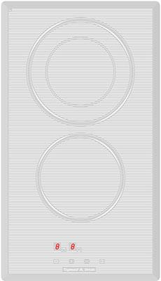 Встраиваемая электрическая варочная панель Zigmund amp Shtain CNS 129.30 WX встраиваемая электрическая варочная панель zigmund amp shtain cns 139 45 wx