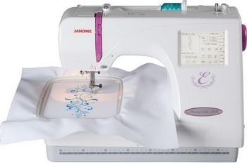 Оверлок JANOME Memory Craft 350 E janome horizon memory craft 8200 qc