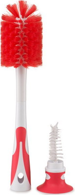 Набор ёршиков для бутылочек Happy Baby BOTTLE NIPPLE BRUSH 11009 RED phantom phantom ps 162