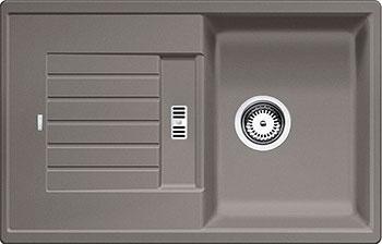 Кухонная мойка BLANCO ZIA 45 S SILGRANIT серый беж мойка blanco zia 6 s silgranit 514748 антрацит размер шхд 100см х 50см