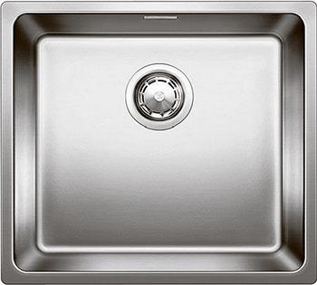 Кухонная мойка BLANCO ANDANO 450-U нерж. сталь зеркальная полировка без клапана-автомата  blanco claron 500 u нерж сталь зеркальная