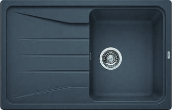 Кухонная мойка BLANCO SONA 45 S SILGRANIT темная скала кухонная мойка blanco sona 5s silgranit шампань