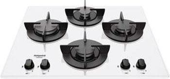 Встраиваемая газовая варочная панель Hotpoint-Ariston 641 DD /HA(WH) варочная панель hotpoint ariston kit 641 fb