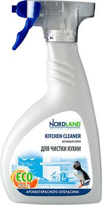 Активный спрей для чистки кухни NORDLAND 390544 бытовая химия xaax ополаскиватель для посудомоечной машины 500 мл