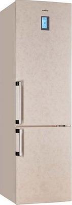 Двухкамерный холодильник Vestfrost VF 3663 B  холодильник vestfrost vf 465 eb new